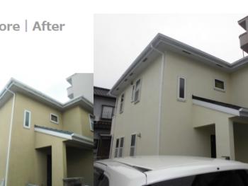 草加市 N様邸 築10年目の塗り替えリフォーム事例