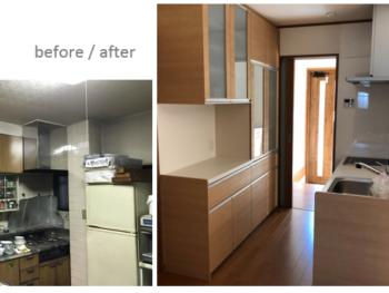川口市 キッチンリフォーム事例