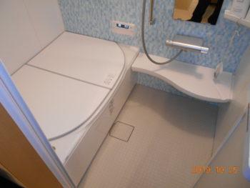 在来浴室からユニットバスへ変更工事