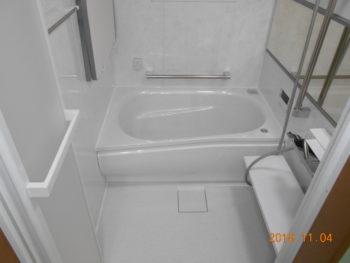 北区赤羽台 浴室リフォーム工事
